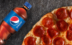 $7.99 Up to 4-Topping Personal Pizza + 20oz Soda