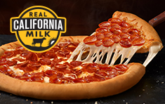 $21.99 Large Stuffed Crust Double Play Pepperoni